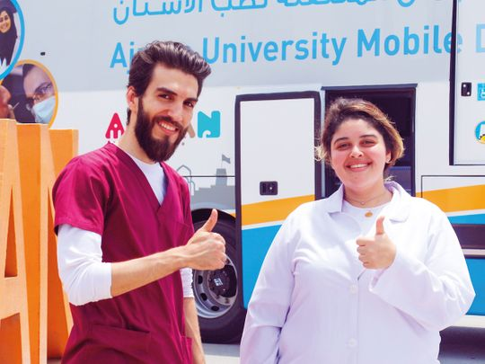 Ajman University: At the intersection of innovation and compassion