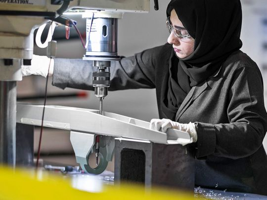 Strata: High-tech aircraft parts maker in the UAE where 58% of workers are Emiratis — and 90% are women