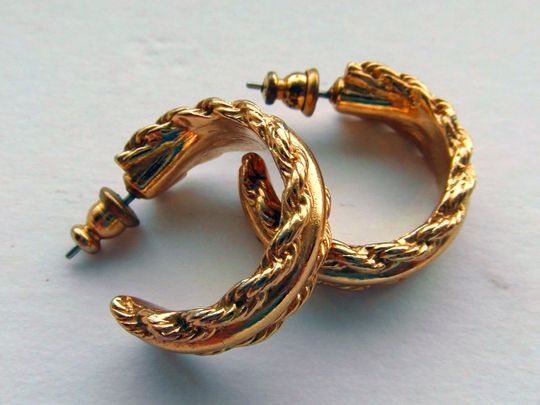 vintage gold earrings generic