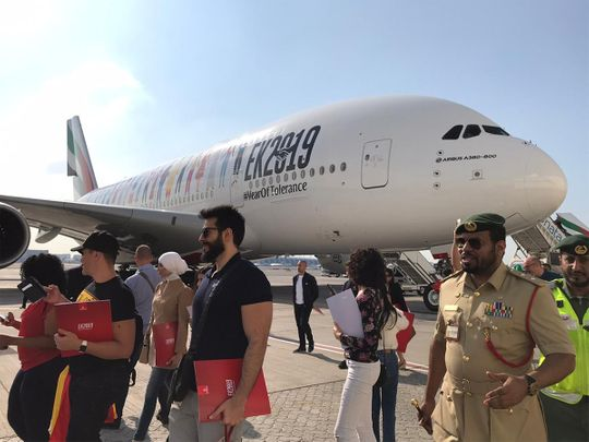 Emirates Tolerance Flight