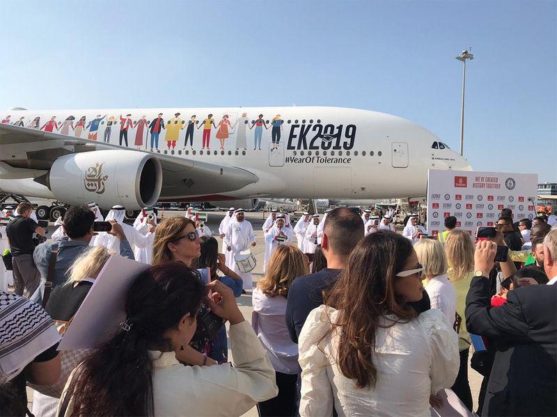 Emirates Tolerance Flight