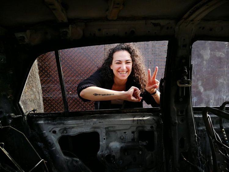 Farah_Lebanon_Car