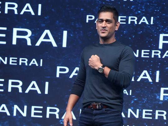 Luxury watch brand Panerai honours Indian cricketer MS Dhoni with limited editions