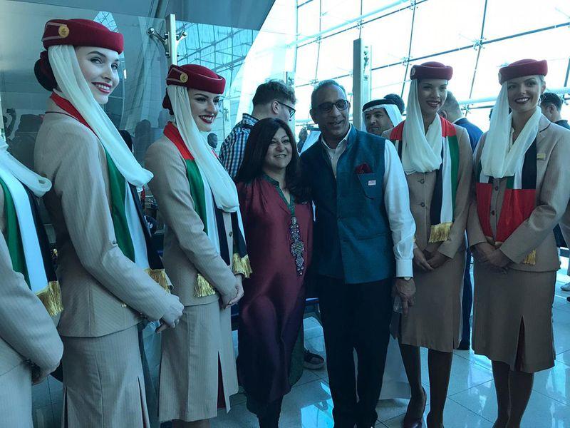 Tolerance flight: Emirates' EK 2019 makes history