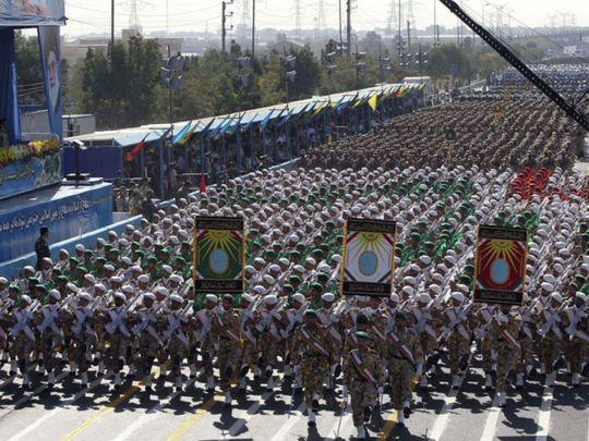 OPN  Iran military parade-1575109217157