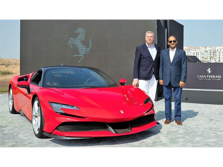 Auto Ferrari Stradale