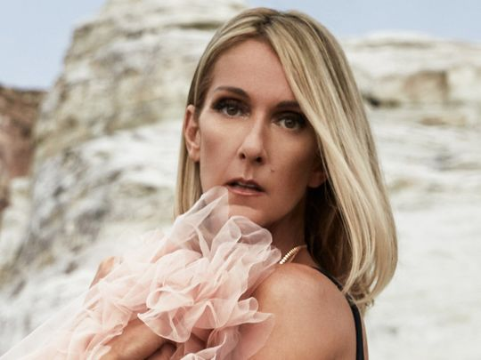 Celine Dion tops chart for the first time in 17 years