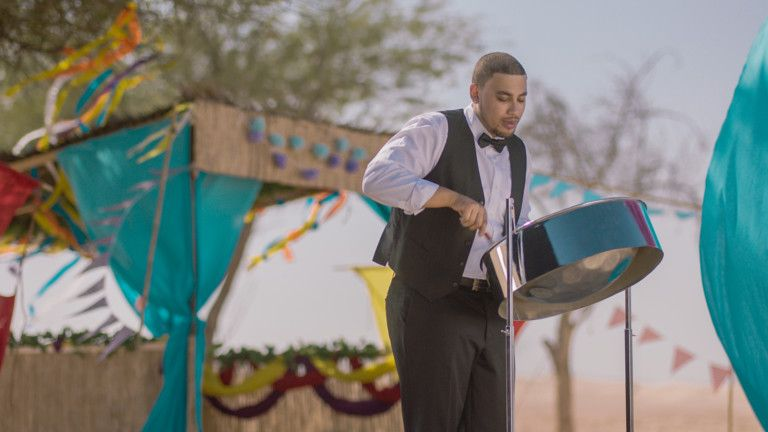 Expo 2020 - National Day Video 2019 -  Justin Javier Moreno plays the steel pans in Trinidad & Tobago-1575184704032