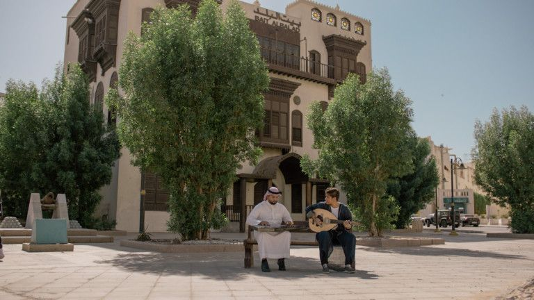 Expo 2020 - National Day Video 2019 -  musicians Hatoon Idrees and Rami Mozain in KSA-1575184706487