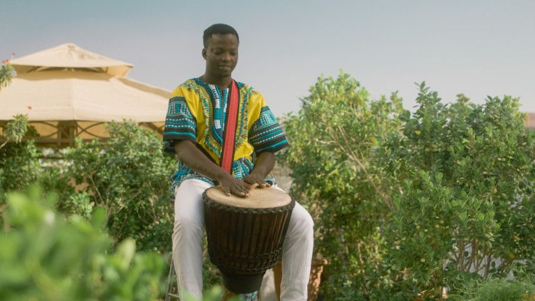 Expo 2020 - National Day Video 2019 - Djembe drummer Michael Akinbove in Nigeria-1575184711236