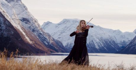 Expo 2020 - National Day Video 2019 - Norwegian violinist Ingrid Maeland plays amidst the fijords in Trondheim-1575184717202