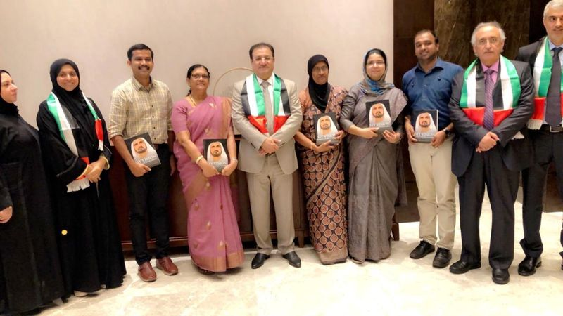 DHA delegation in Kerala