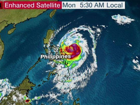 Philippines Monster Typhoon Kammuri Poses Serious Threat To