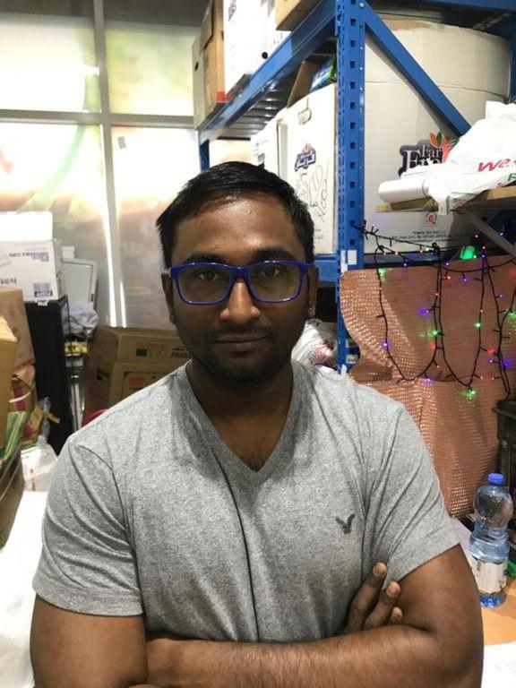 NAT 191202 Rintu Mandal, in charge West Zone Fresh Al Nahda-1575279215670