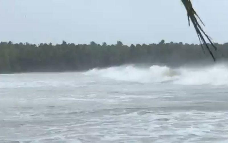 Samar Storm surge
