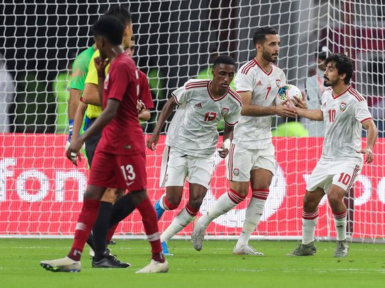Valiant UAE go down fighting in Arabian Gulf Cup