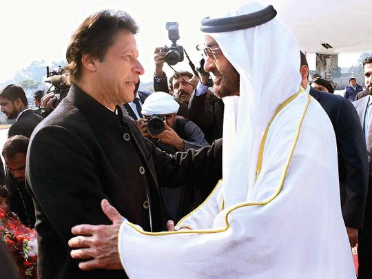 Imran with MBZ