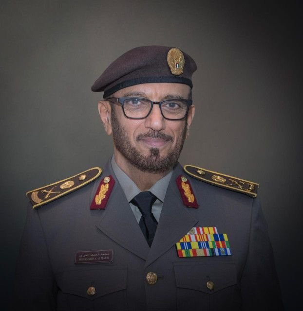 Major General Mohammed Ahmed Al Marri, Director General of the GDRFA Dubai-1575363227606