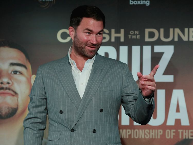 Boxing-Eddie Hearn