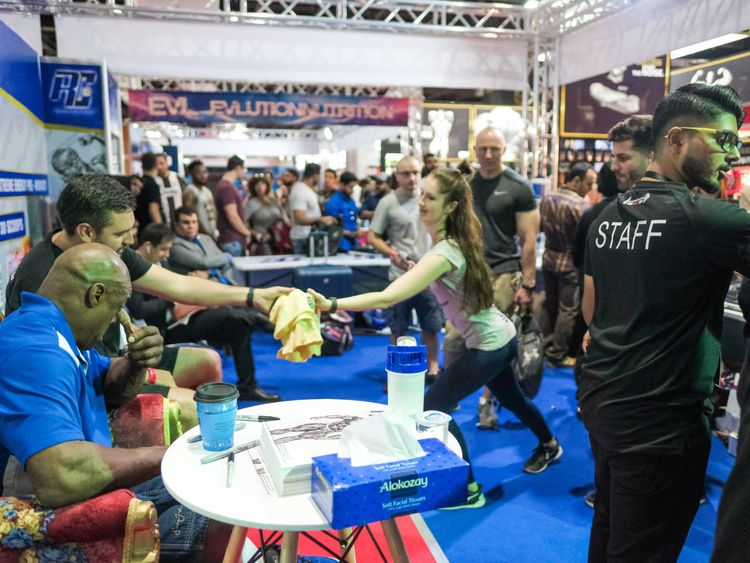 Dubai Muscle Show 14 Ronnie Meet & Greet-1575437770861