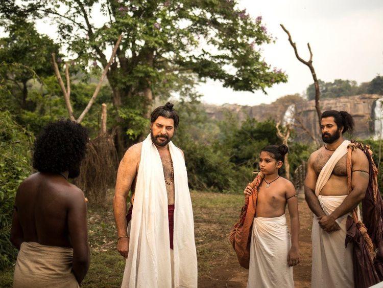 Mammootty and Unni Mukundan in Mamangam (2019)-1575452559120