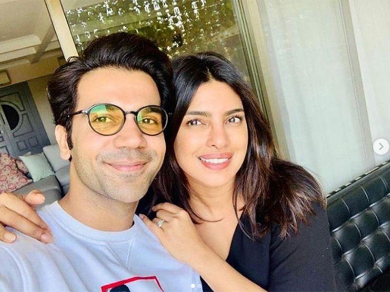 Rajkummar Rao and Priyanka Chopra Jonas