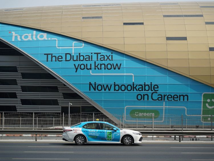 Taxi customers can continue to use the RTA call centre until January 15 before system migrates to Hala e-hailing platform using Careem app