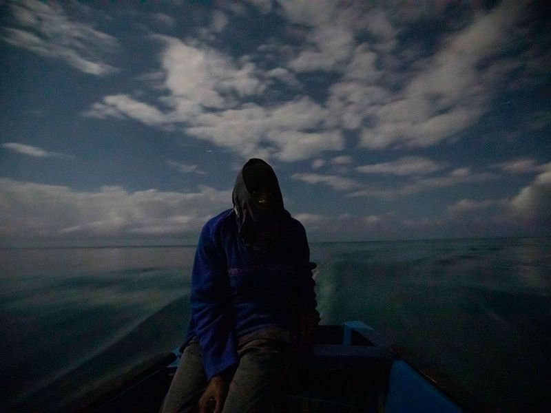 What can be saved coral night_fishing