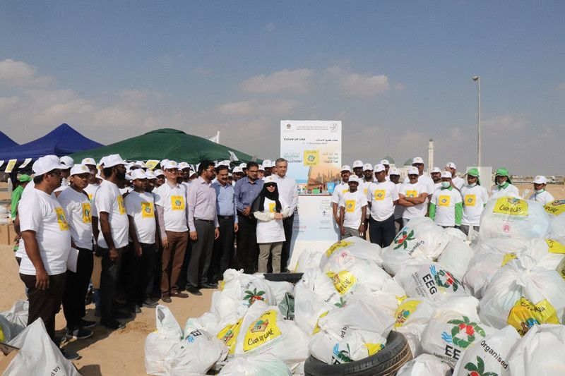 nat 191205 Clean Up UAE kicks off in Sharjah-1575546255601