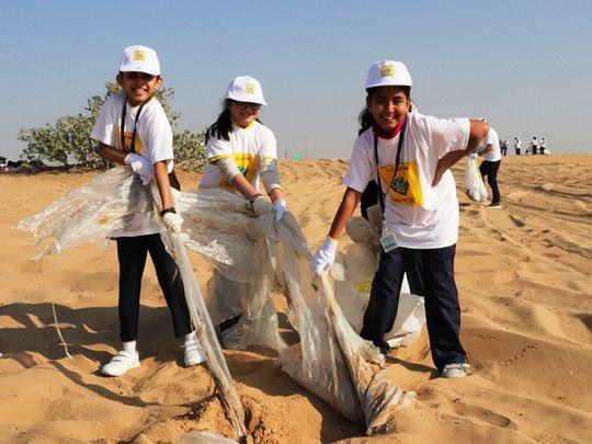 nat 191205 Clean Up UAE kicks off in Sharjah2-1575546257538