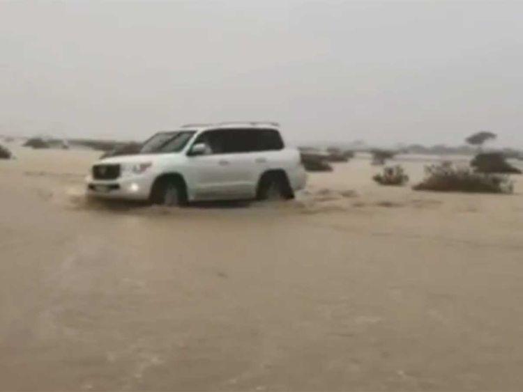 Sunday floods in Al Ain