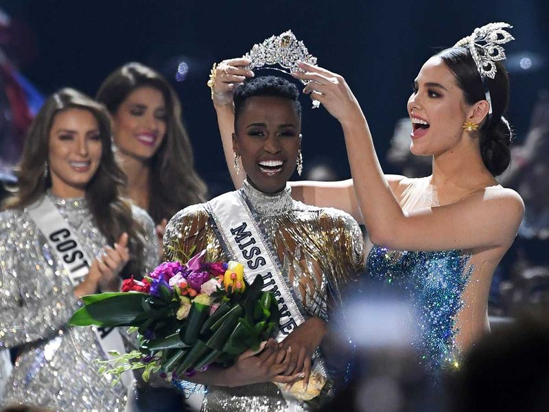 191209 miss south africa