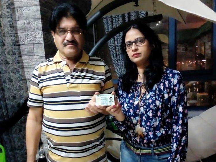 Kajal and Rasheed Khan