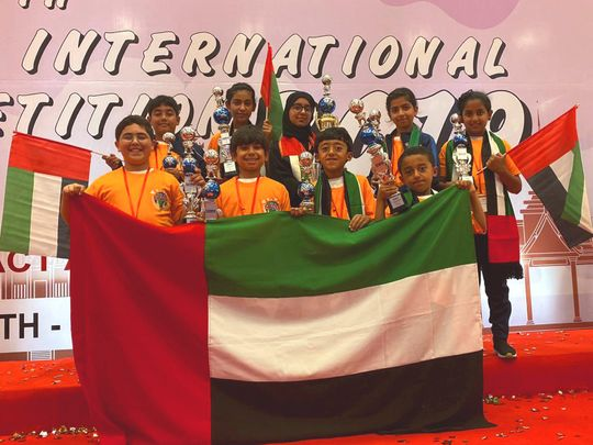 NAT 191209 Emirati  Mental Arithmetic International Competition 2019-1575890165170