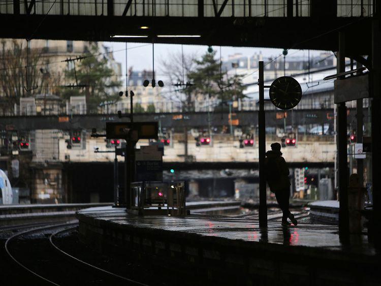 Paris strike