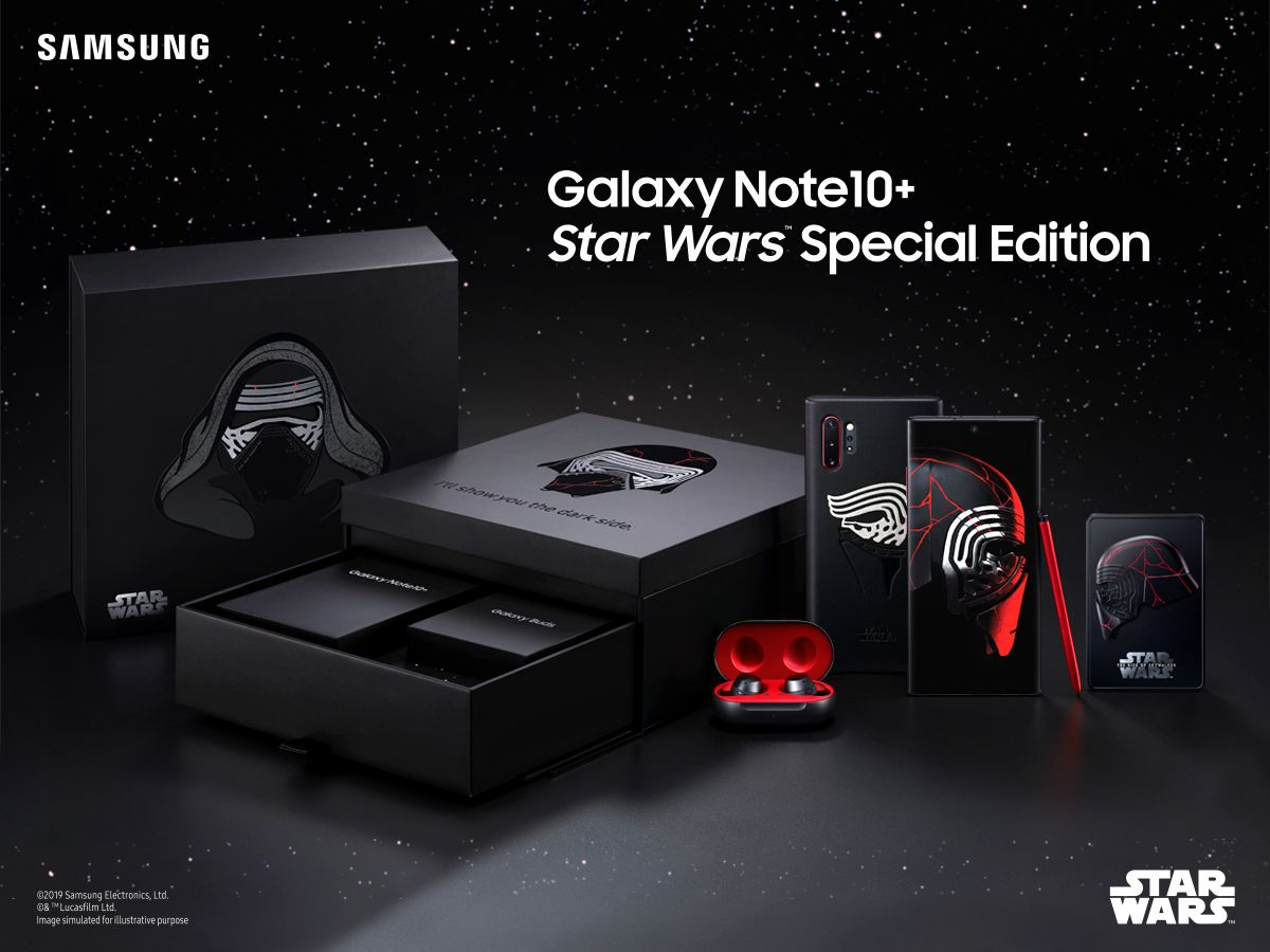 Samsung Note10+ Star Wars Limited Edition Box