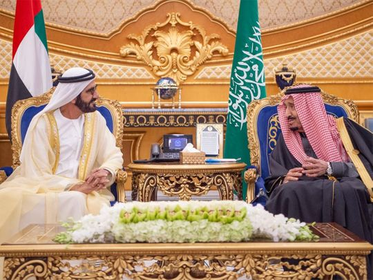 20191210_Saudi king and Mbr