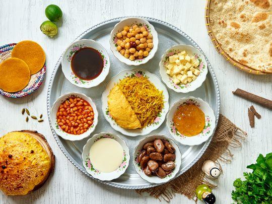 Special Emirati Breakfast Tray Arabian Tea House-1575965943712