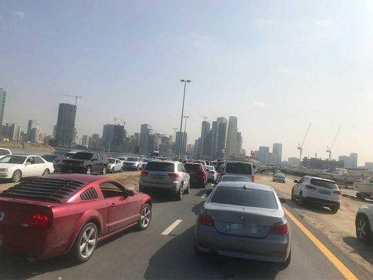 191211 sharjah traffic