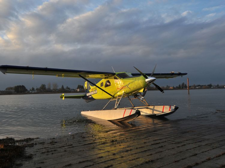 Image result for World's first fully electric commercial aircraft takes flight in Canada