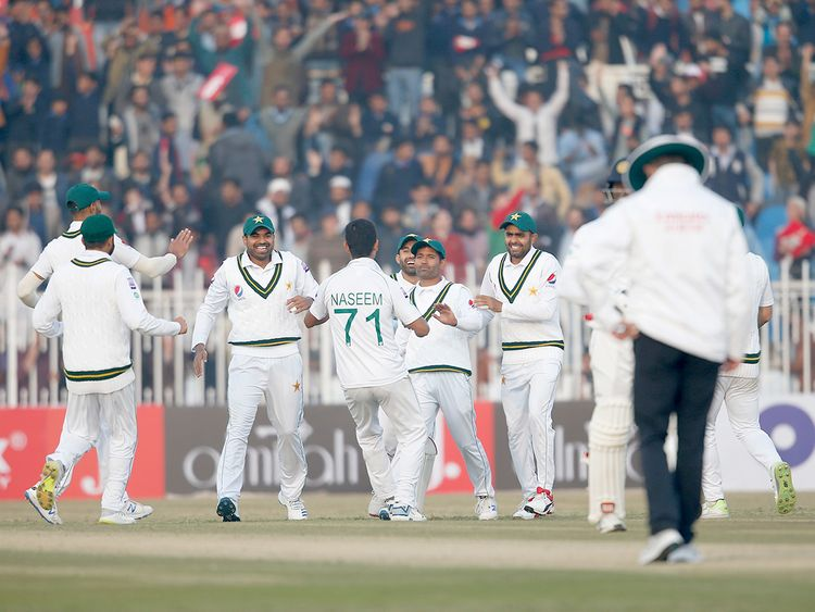 Pakistani pacer Naseem Shah