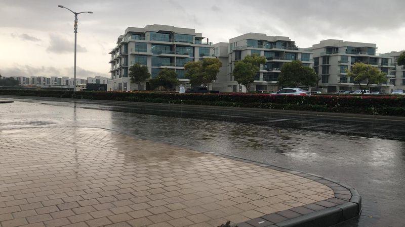 Rains Dubai