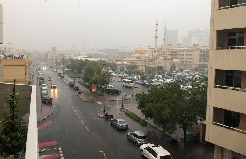 Rains in Dubai