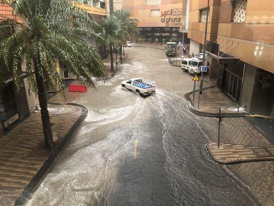 Reader picture rain dubai