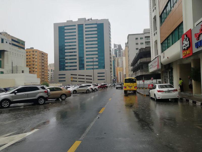 Sharjah rains