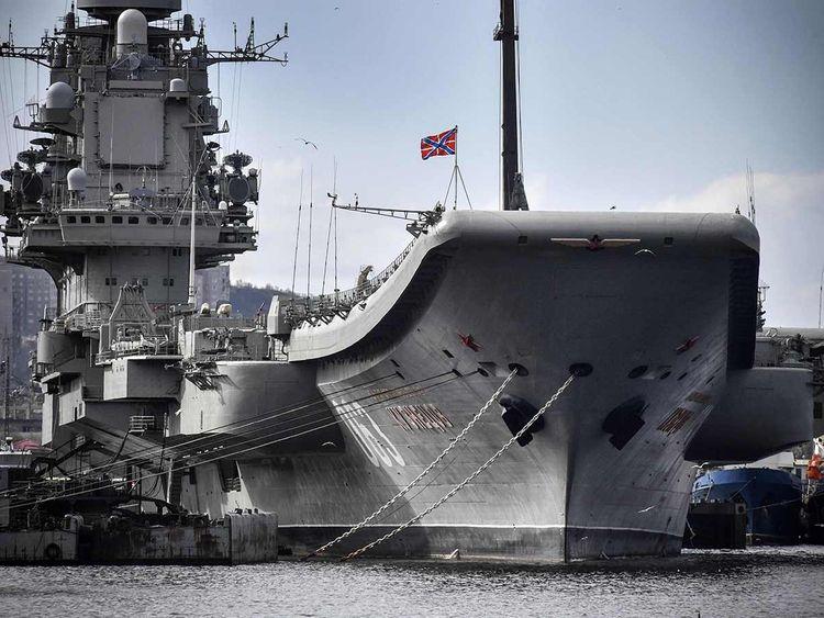 Admiral Kuznetsov  20191212