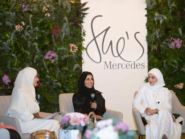Auto Emirati women celebrated by Mercedes