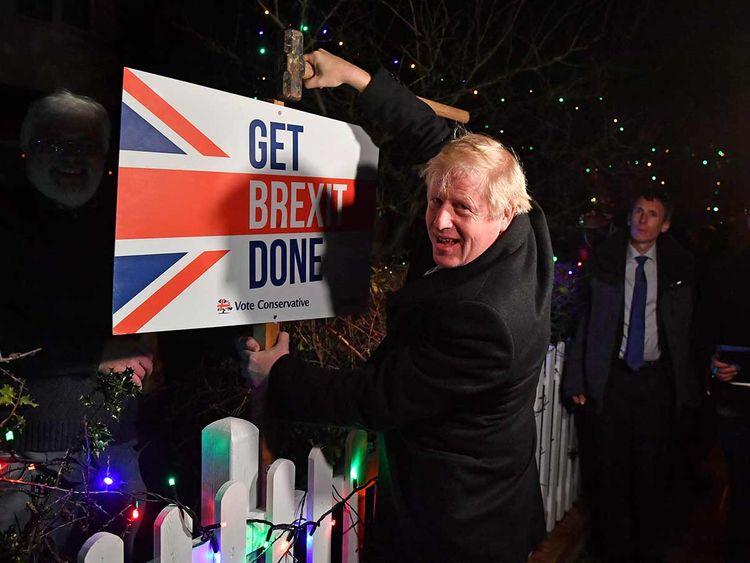 Brexit polls 20191212