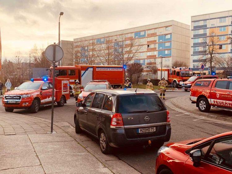 Blast in Blankenburg, Germany