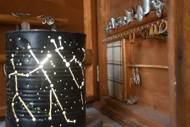 REG 191212  RUBBISH tin can lamp-1576224272556